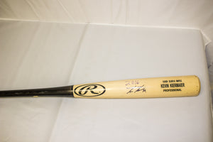 Kevin Kiermaier's Two Tone Rawlings Pro Maple Bat - Celebz Direct