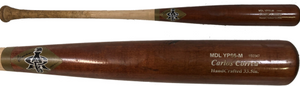Carlos Correa Game Used Two-Tone ABC Rookie Bat - Celebz Direct