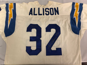 Jim Allison 1967 Game Used and Signed Uniform - Celebz Direct