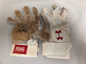 Ryan Howard Autographed Game Used Batting Gloves