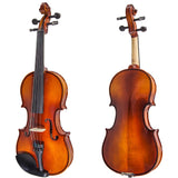 Paititi Artist 200 Series Solid Wood Ebony Parts Student Violin Kit