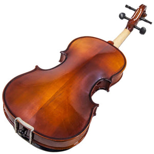 Sky Solid Wood Viola Outfit with Lightweight Case, Bow and Rosin (12-16.5'')