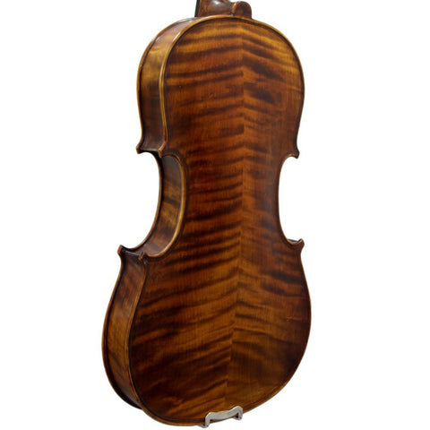 Paititi 4/4 Full Size PTTVNSH300 Solid Wood Ebony Fitted Acoustic Violin