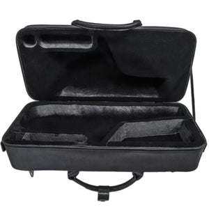 Paititi Premium Alto Saxophone Lightweight Case, Genuine Leather Handle, Backpackable