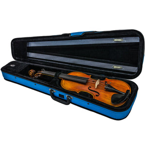 SKY Classic Violin Triangle Case Lightweight Blue Color Full Size