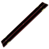 Paitit 4/4 Full Size Mahogany Wood Violin Bow Case