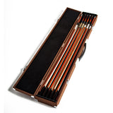 SKY High density Wooden Bow Case for Six(6) Violin/Viola/Cello Bows Strong and Durable