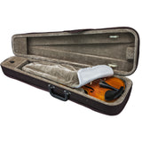 SKY Classic Violin Triangle Case Lightweight Brown Color Full Size