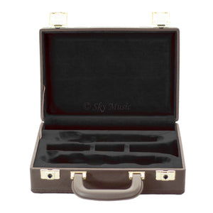 Professional Replacement Case for Bb Clarinet Imitation of Leather (Red or Black)
