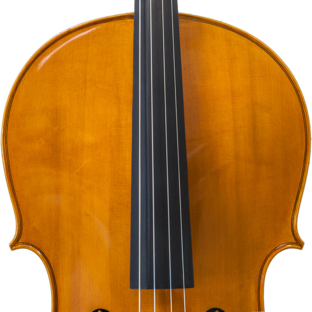 Paititi CE3005PE Scholar 256 Ebony Fitted Matte Finish Solid Wood Cello 1//2 Size