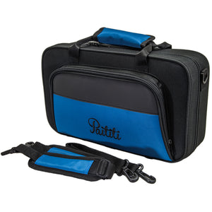 Paititi Lightweight Bb Clarinet Case, Backpackable, Shoulder Strap with Exterior Pocket