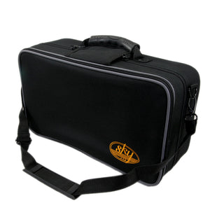 Sky Bb Clarinet Lightweight Case with Shoulder Strap Exterior Pocket