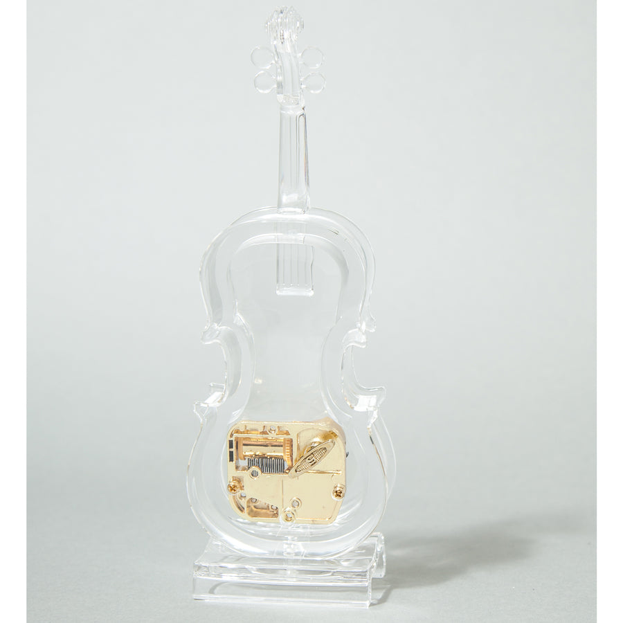 Sky Mini Violin Crystal Clear Music Box Castle in the Sky Song