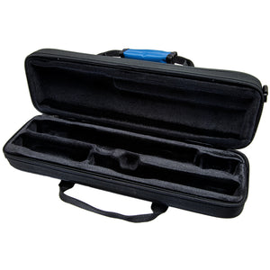 Paititi Lightweight C foot Flute Case, Exterior Packet with Detachable Shoulder Strap