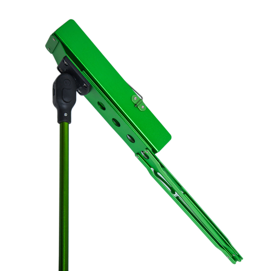 Paititi Brand New Strong Durable Adjustable Folding Music Stand Green