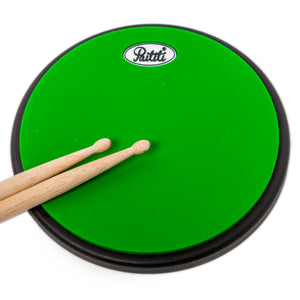 PAITITI 8 Inch Portable Practice Drum Pad with Carrying Bag