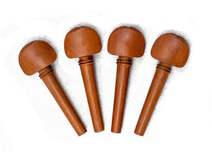 SKY Brand New 4/4 Full Size Jujube wood Violin Parts Set Double Pearl Eye 7 Pcs