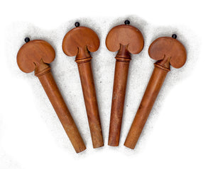 SKY Brand New 4/4 Full Size Jujube wood Violin Parts Set Dragon Pattern 7 Pcs