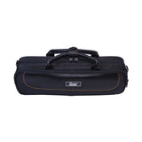 Paititi Genuine Leather B/C Flute Lightweight Case with Shoulder Strap