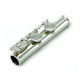 Sky C Foot Flute Nickel Open Hole Band Approved