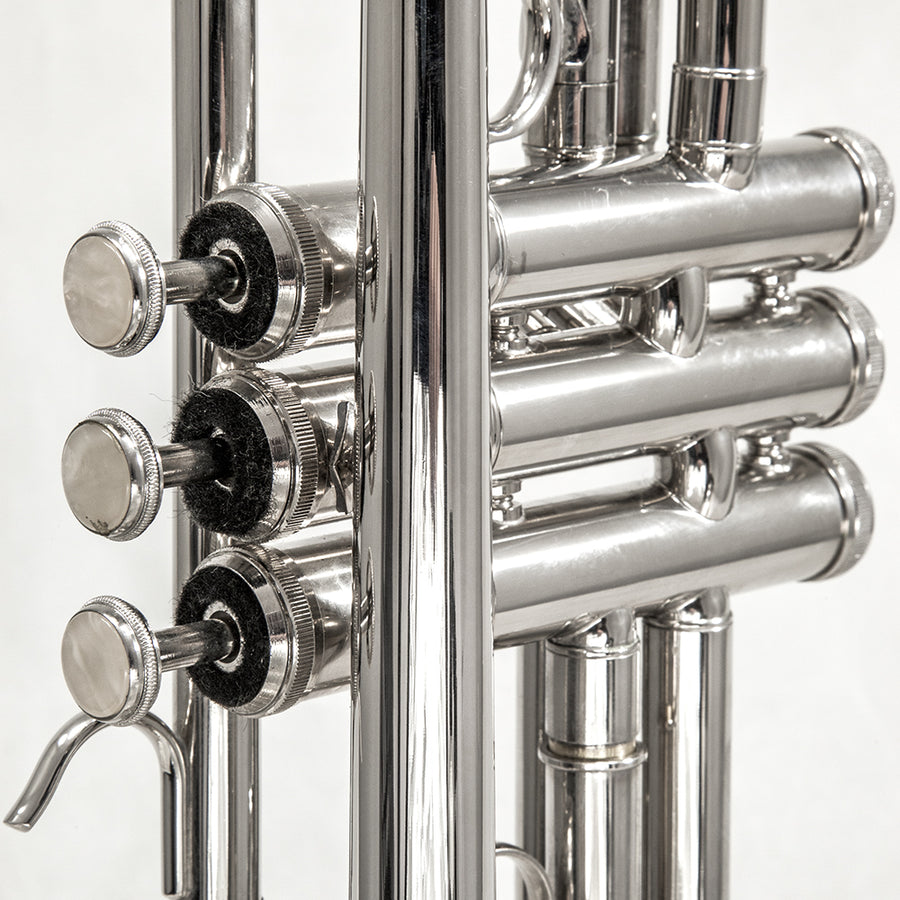 Sky Band Approved Nickel Plated Brass Bb Trumpet Guarantee Top Quality Sound