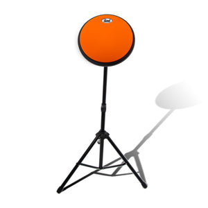PAITITI 8 Inch Portable Practice Drum Pad with Stand and 7A Sickes