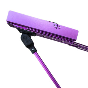 Paititi Brand New Strong Durable Adjustable Folding Music Stand Purple