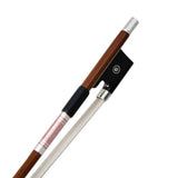 Sky 4/4 Full Size Pernambuco Violin Bow with Silver Part Double Pearl Eye