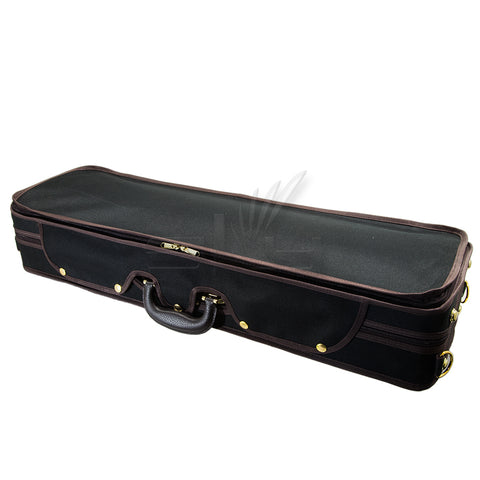 SKY QF28 Premium Professional Oblong Shaped Violin Case with Hygrometer