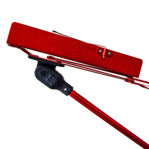 Paititi Brand New Strong Durable Adjustable Folding Music Stand Red