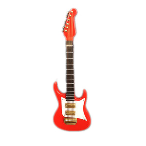 Sky Mini Strat Red Electric Guitar 1:6 Scale in Cute Gift Box