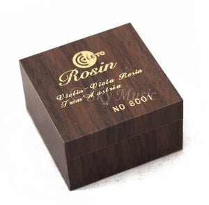 Leto 8000 Series High Quality Rosin for Violin Viola Cello, Light and Low Dust