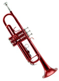 Sky Band Approved Red Lacquer Plated Brass Bb Trumpet Guarantee Top Quality Sound