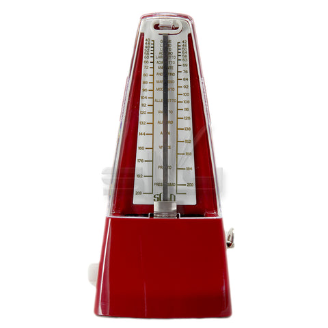 High Quality New Style SOLO350 Mechanical Metronome Red Color