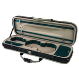 SKY Full Size SP02 Oblong Shape Sport Style Lightweight Violin Case Backpackable