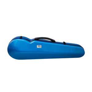 PAITITI Triangular Full Size Durable Super Light Fiber Glass Violin Case with Hygrometer