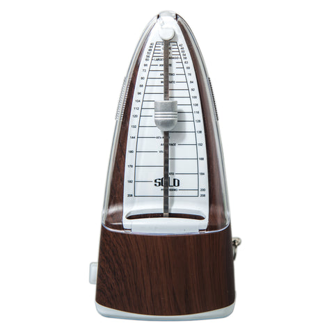 High Quality New Style SOLO300 Mechanical Metronome Wood Color