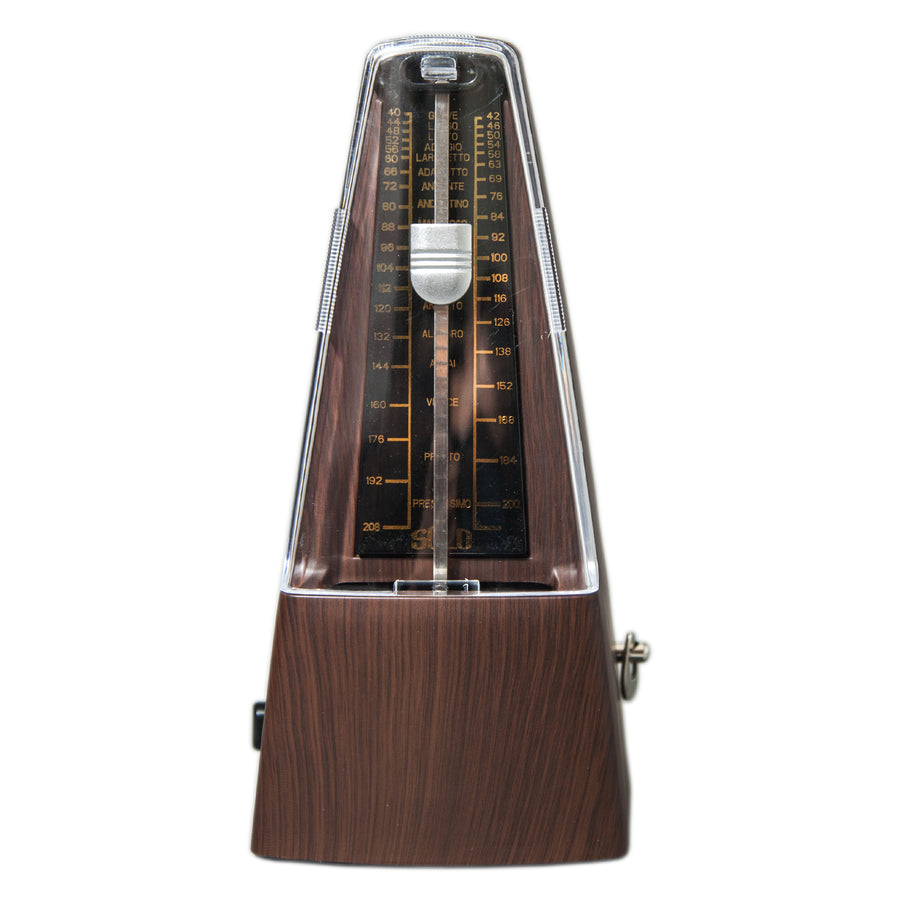 High Quality New Style SOLO350 Mechanical Metronome Wood Color