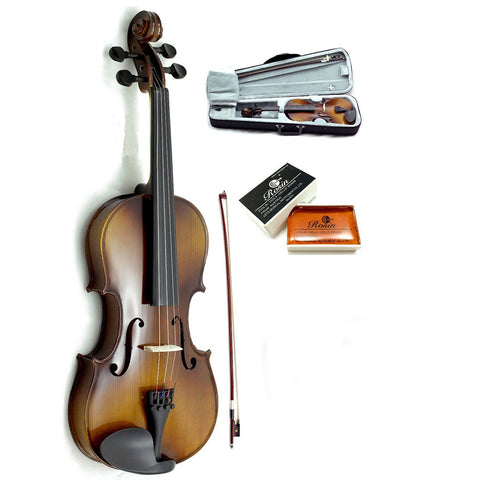 SKY SKYVA High Quality 15.5-16 Inch Acoustic Viola With Case Bow Rosin