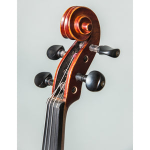 Professional Hand Made Violins 4/4 Full Size Beautiful Flamed Back Ebony Fitting