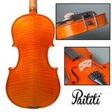 Paititi Intermediate Level Plus Hand Made Violin Highly Flamed Ebony Parts Package