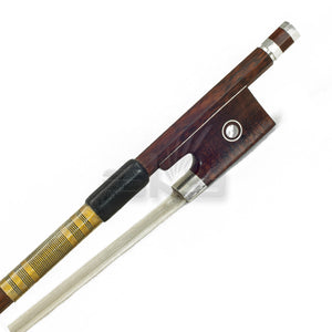 Sky 4/4 Full Size Violin Bow Snakewood with Snakewood frog Gold Wrap Well Balanced