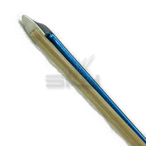 SKY 4/4 Violin Bow Satin Carbon Fiber Round Stick Double Pearl Eye Frog - Blue