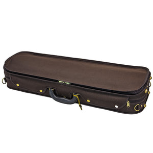 Sky Violin Oblong Case VNCW06 Solid Wood with Hygrometers Brown/Brown