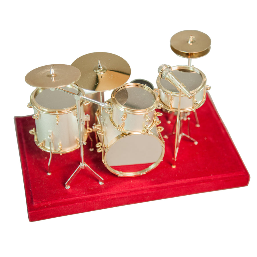Sky Miniature Drum Set Collectible Great Gift Set - DECORATIVE MODEL
