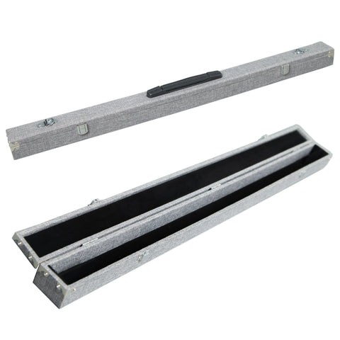 SKY High Density Board Bow Case for Two(2) Violin/Viola/Cello Bow Strong and Durable Grey Color