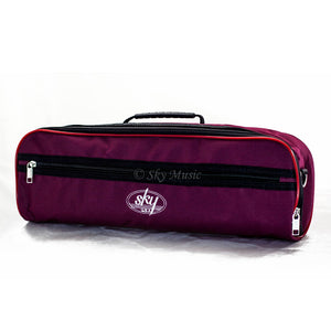 Sky C Flute Hard Case Cover w Side Pocket/Handle/Strap Multiple Colors