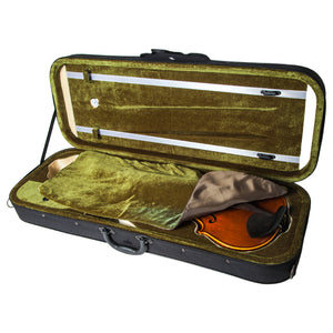 SKY QF26 Oblong Lightweight 16'' Viola Case with Hygrometer Black/Green