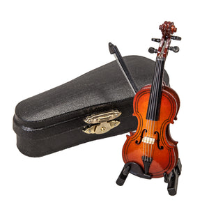 SKY Delicate Miniature Violin 4 inches Great Gift Idea