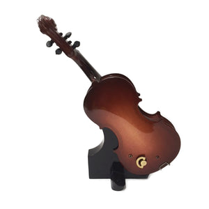 Sky Mini Cute Cello Shape Music Box with Delicate Stand